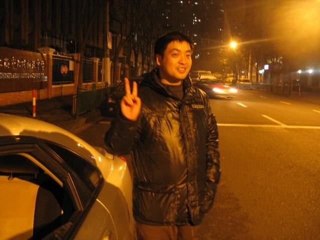 高博在路上吹风,江南style